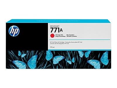 HP 771A Chromatic Red Ink Cartridge, Standard (B6Y16A)