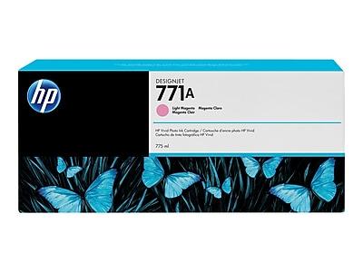 HP 771A Light Magenta Ink Cartridge, Standard (B6Y19A)