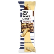 This Bar Saves Lives, Dark Chocolate Peanut Butter & Sea Salt, 1.4 oz, 12/Box (BSL00447)