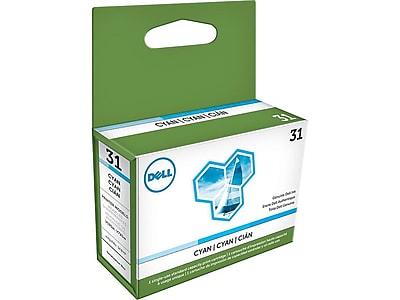 Dell Series 31 Cyan Ink Cartridge, Standard (PYX1V)