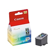 Canon CL-51 Tri-Color High Yield Ink Cartridge (0618B002)