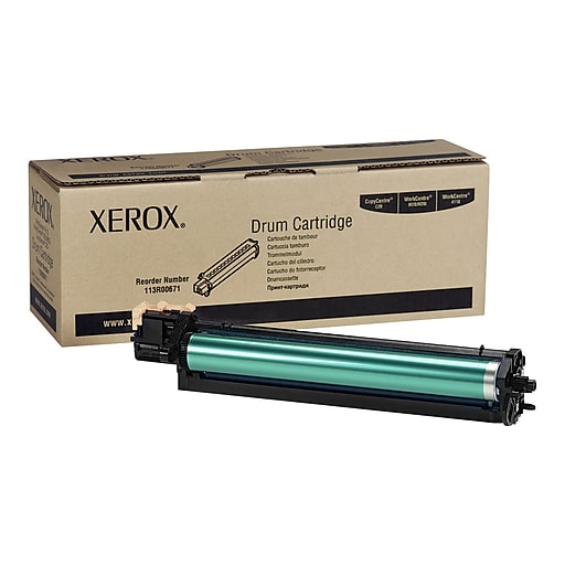 Xerox 113R00671 Black Drum Cartridge, Standard
