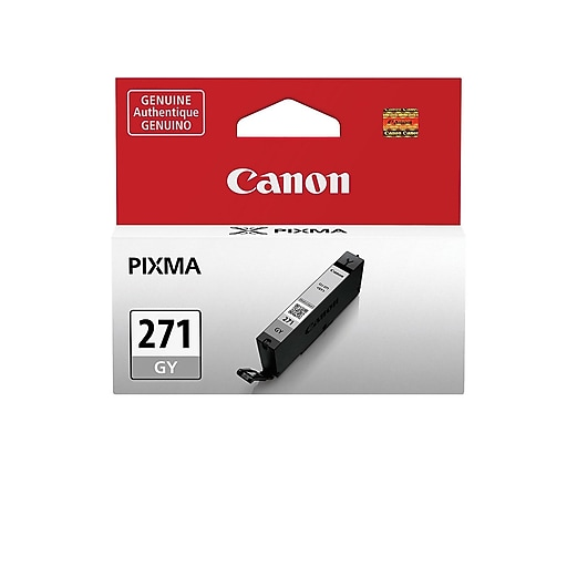 Canon CLI-271 Gray Ink Cartridge, Standard (0394C001)