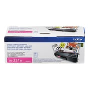 Brother TN 331M Magenta Toner Cartridge, Standard