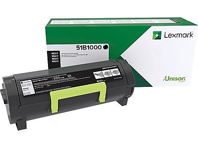 Lexmark MX317 Black Toner Cartridge, Standard (51B1000)