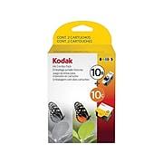 Kodak 10B/10C Black/Tri-Color Standard Yield Ink Cartridge, 2/Pack (8367849)