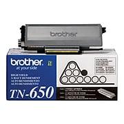 Brother TN-650 Black High Yield Toner Cartridge