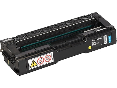 Ricoh SP C220A Cyan Toner Cartridge, Standard (406047)