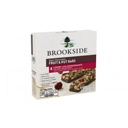 BROOKSIDE Dark Chocolate Fruit & Nut Bars, Cherry with Pomegranate Flavor, 5.6 oz, 4-Pack, 2 Count