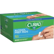 Curad Alcohol Pads, 200/Box (CUR45581RBI)