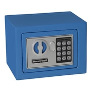Honeywell 0.19 cu.ft. Digital Lock Security Safe (5005), Blue