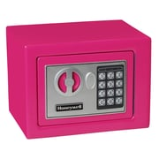 Honeywell 0.19 cu.ft. Digital Lock Security Safe (5005), Pink