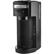 Brentwood Ts-114 Single-Serve Black Coffee Maker