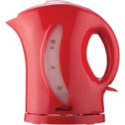 Brentwood KT-1619 1.7-Liter Cordless Plastic Tea Kettle in Red