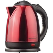 Brentwood Kt-1785 1.5-Liter Red Stainless Steel Electric Cordless Tea Kettle