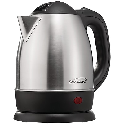 Brentwood Kt-1770 1.2-liter Stainless Steel Electric Cordless Tea Kettle