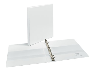 "Avery Heavy Duty 1/2"" 3-Ring View Binder, White (05234)"
