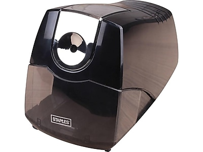 Staples® Power Extreme Electric Pencil Sharpener, Heavy-Duty, Black (21834)
