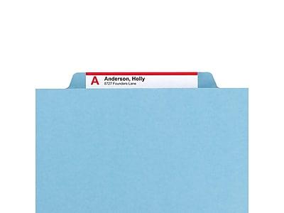 Smead SafeSHIELD Pressboard Hanging File Folder, 2