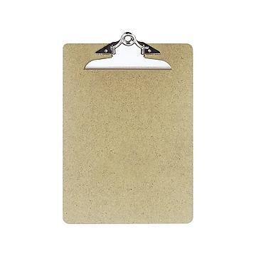 Officemate Hardboard Clipboards, Brown, 3/Pack (83505/83130)