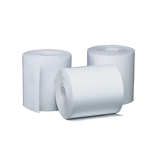 "PM Company Perfection Thermal Cash Register/POS Rolls, 3 1/8"" x 220', 50/Carton (5220)"