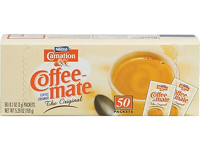 Coffee-mate Original Powdered Creamer, 0.1 Oz., 50/Box (NES30032)