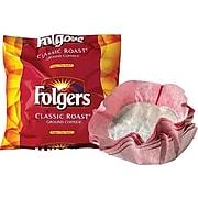Folgers Classic Roast Ground Coffee, Medium Roast, Filter Packs, 40/Carton (PRO22142)