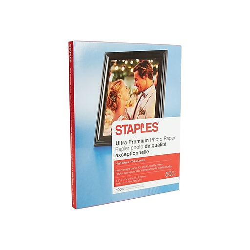 Shop Staples For Staples® Photo Supreme Paper, 8 1/2