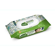 Seventh Generation Free & Clear Unscented Baby Wipes, 64/Pack (34208)