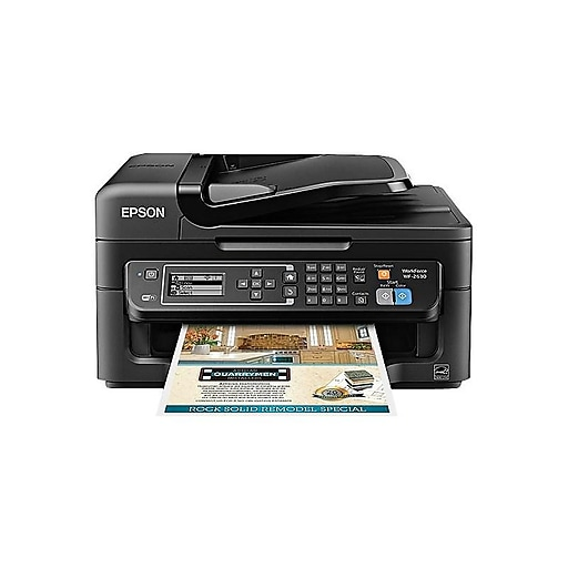 Epson WorkForce WF-2630 C11CE36201 USB & Wireless Color Inkjet All-In-One  Printer