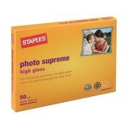 "Staples Supreme Glossy Photo Paper, 5"" x 7"", 50/Pack (19892-CC)"