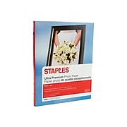 "Staples Ultra Premium Matte Photo Paper, 230 g/m², 8.5"" x 11"", 50/Pack (19895-CC)"
