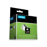 """DYMO LabelWriter Appointment Card 30374 Label Printer Labels, 3-1/5""""W, Black On White, 300/Roll"""