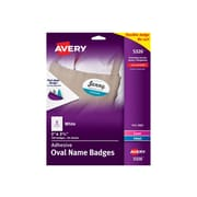 Avery Sticker Name Tags/Labels, White, 160/Pack (5326)