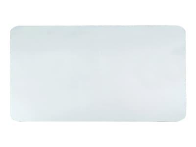 """Artistic Krystal View Anti-microbial Plastic Desk Pad, 20""""L x 36""""W, Clear (60-6-0M)"""