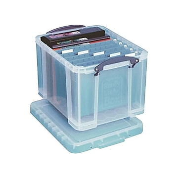 Really Useful File Box, Letter/Legal Size, Clear (32CL)