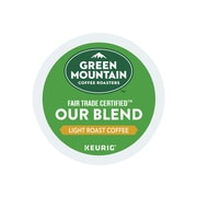 Green Mountain Coffee Roasters Our Blend Coffee, Keurig® K-Cup® Pods, Light Roast, 96/Carton (GMT6570CT)