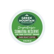 Green Mountain Coffee Roasters Sumatra Reserve Coffee, Keurig® K-Cup® Pods, Dark Roast, 96/Carton (GMT4060CT)
