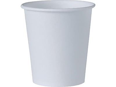 Solo Bare Eco-Forward Cold Cups, 3 Oz., White, 5000/Carton (44-2050)