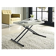 """Staples Personal Folding Table, 25.5""""L x 17.8""""W, Gray (79143)"""