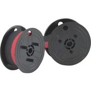 Porelon Universal Ribbon, Black/Red, 2/Pack (11210)