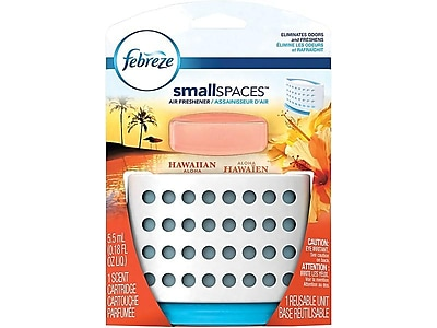 Febreze smallSPACES Solid Air Freshener, Hawaiian Aloha