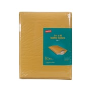 Staples Bubble Mailers Golden Brown 14 1 2 X 20 7 12 Pack 51595