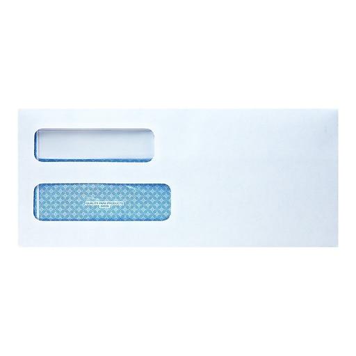 Quality Park Redi Seal Security Tinted Business Envelopes 4 1 8 X 9 2 White 500 Box QUA24559