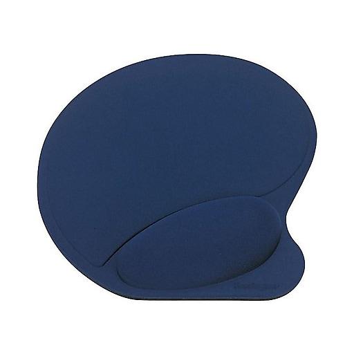 Shop Staples For Kensington Mouse Pad With Wrist Pillow Blue