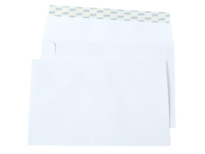 Staples Easyclose Invitation Envelopes White 100 Box 394063 19191