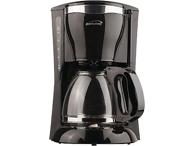 Brentwood 12-Cup Automatic Coffee Maker, Black (TS-217)