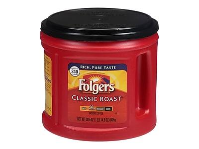 Folgers Classic Roast Ground Coffee, Medium Roast (SMU02042)