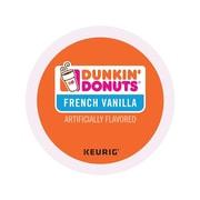 Dunkin' Donuts French Vanilla Coffee, Keurig® K-Cup® Pods, Medium Roast, 24/Box (400847)