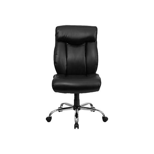 Flash Furniture HERCULES LeatherSoft Executive Big & Tall Chair, Black (GO-1235-BK-LEA-GG)